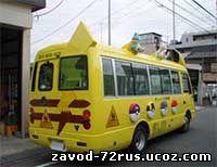 Автобус детства в Заводоуковске