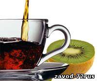 Черный чай и киви помогут снизить высокое давление